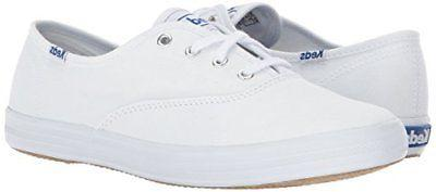 Keds Women's Champion Original Canvas Sneaker White Lace Up