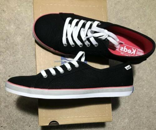 women s coursa black sneaker size 8