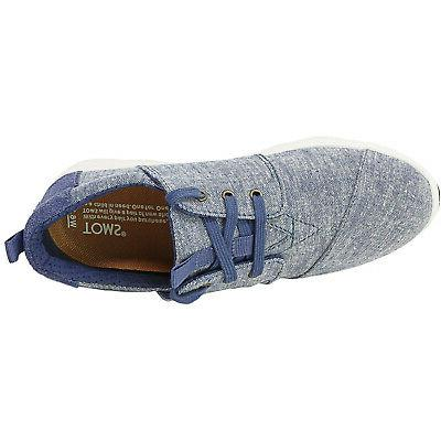 Toms Del Rey Chambray Canvas Sneaker