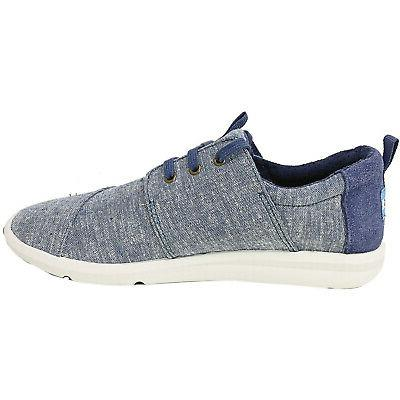 Toms Del Chambray Ankle-High Fashion Sneaker