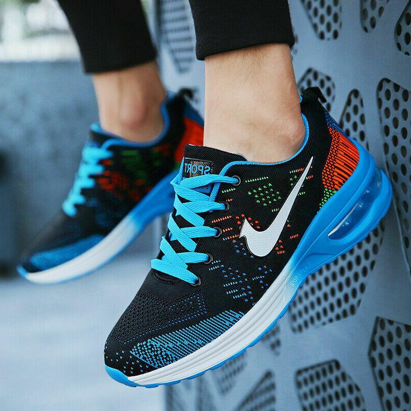 Women's Flyknit Jogging Running Athletic Tennis
