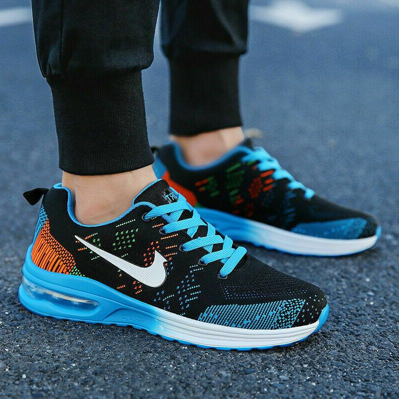 Women's Flyknit Sneakers Jogging Running Athletic Tennis