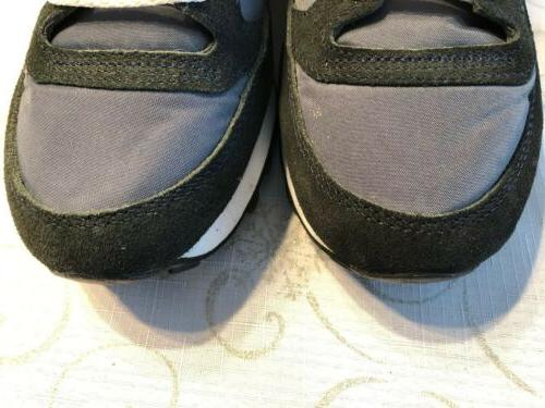 WOMEN'S JAZZ GREY SILVER SNEAKERS Size 8.5