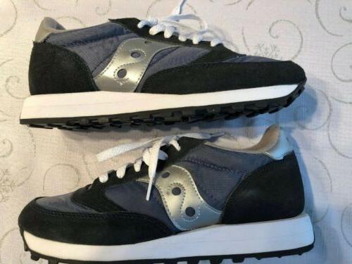 WOMEN'S SAUCONY JAZZ GREY SNEAKERS 8.5