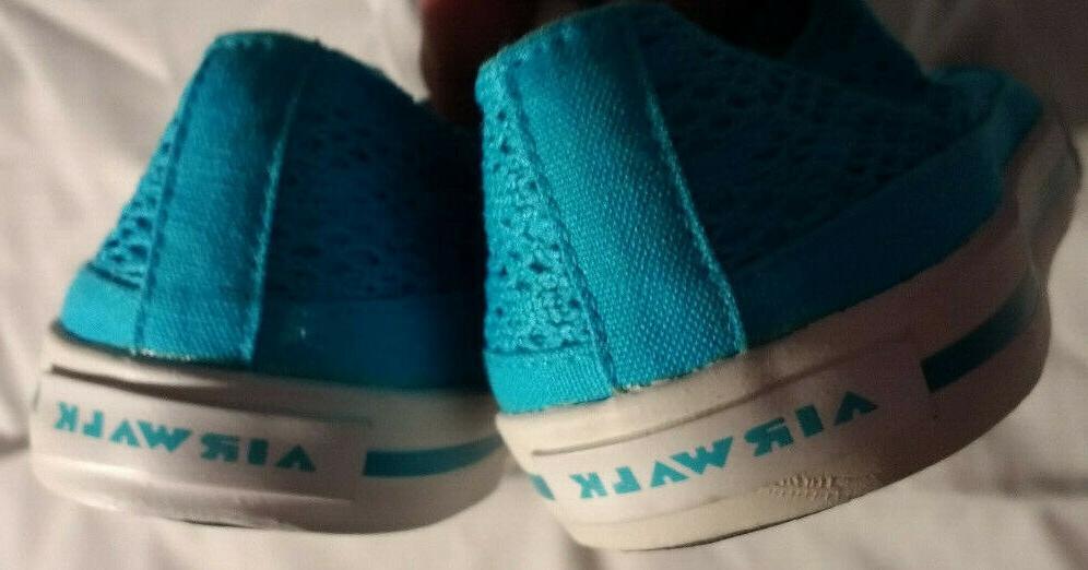 Women's Sneakers Blue Lace Size 6 1/2