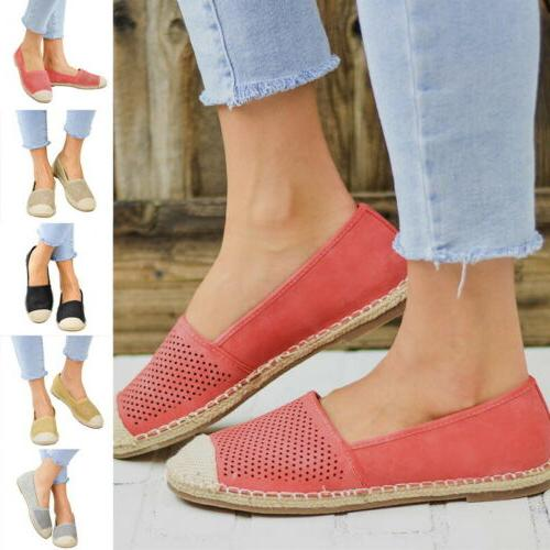 Women's Mesh Loafers Round Toe Ankle Flats Sneakers Casual S