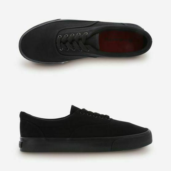 women s rio black casual shoes canvas