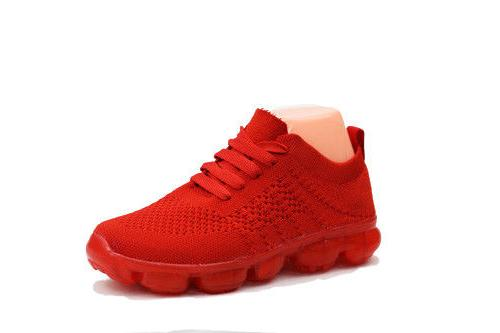Women's Sneakers Boots Gym Trainers Fitness Sports Running Casual Shoes Red