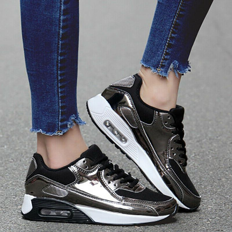 Women's Shoes Bling Sequin Running