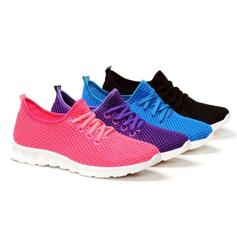 Women's 9 summer shoes platform sneakers running shoes