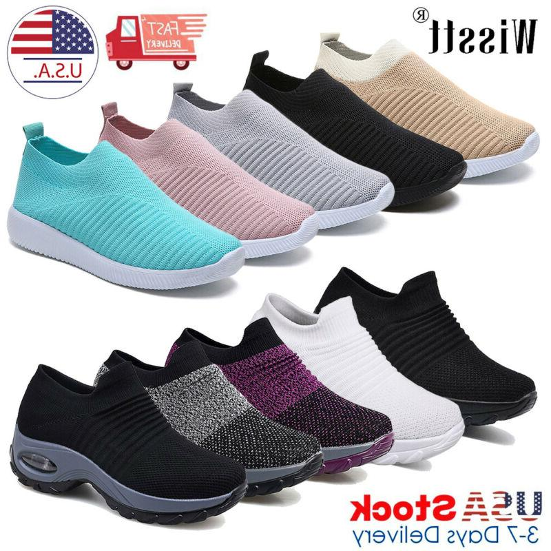 women s trainers mesh sport running sneakers