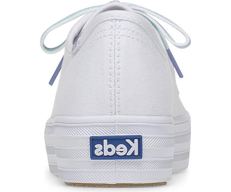 Keds Women's Triple Multi Lace Sneakers White Pick A
