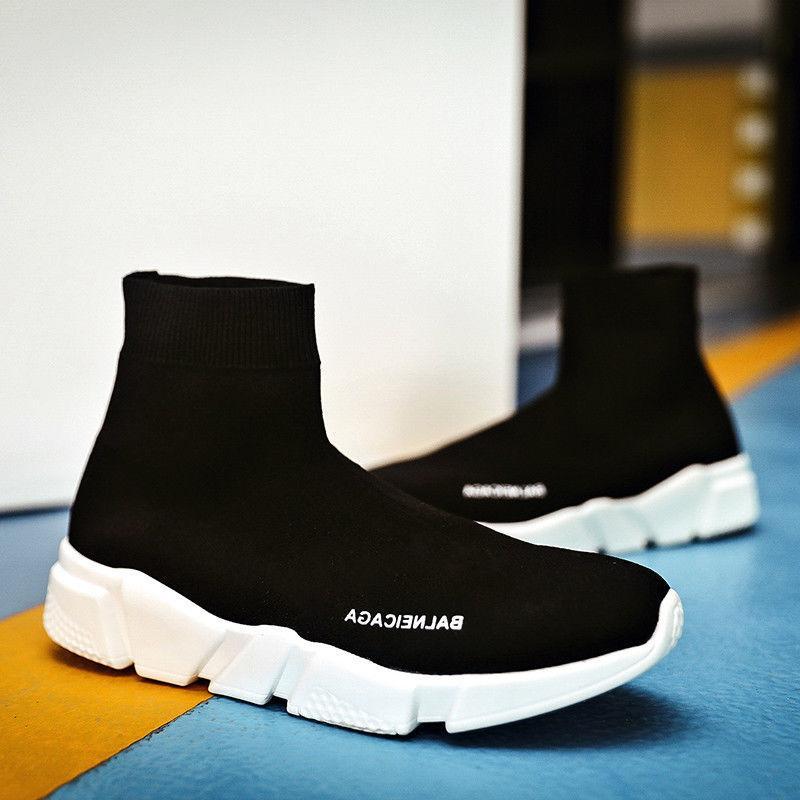 Women's Shoes Running Socks Shoes Fashion Mesh Sneakers Gym Casual Shoes