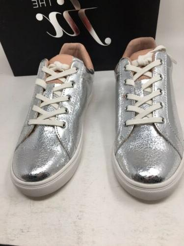 The Fix Women Sequin Tailor Lace-up Sneaker SIZE 7 @