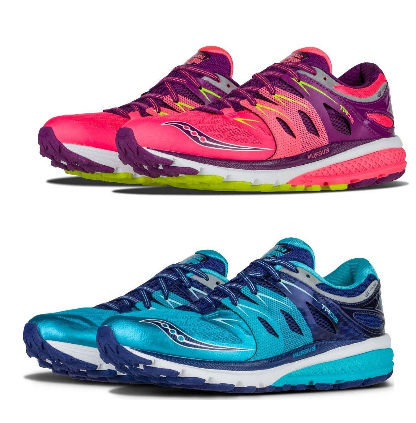 Saucony Women Shoes Zealot ISO Everun 2 Running Training Sne