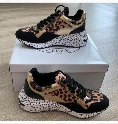 women sneakers bena leopard size 8 5