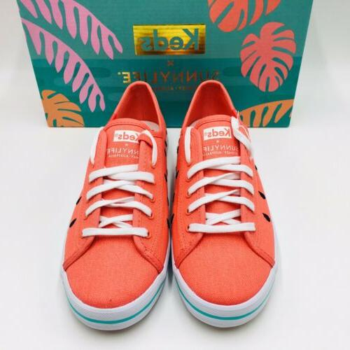 Keds Women's x SUNNYLIFE Kickstart Watermelon Sneakers