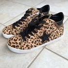 Steve Madden Womens 6.5 8.5 Savior Leopard Multi Sneakers Hi