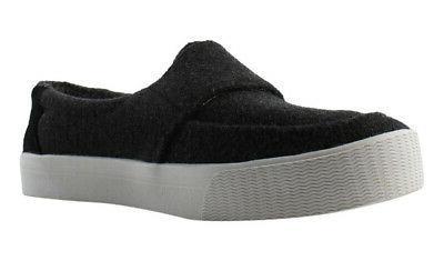 TOMS Felt Suede Loafers