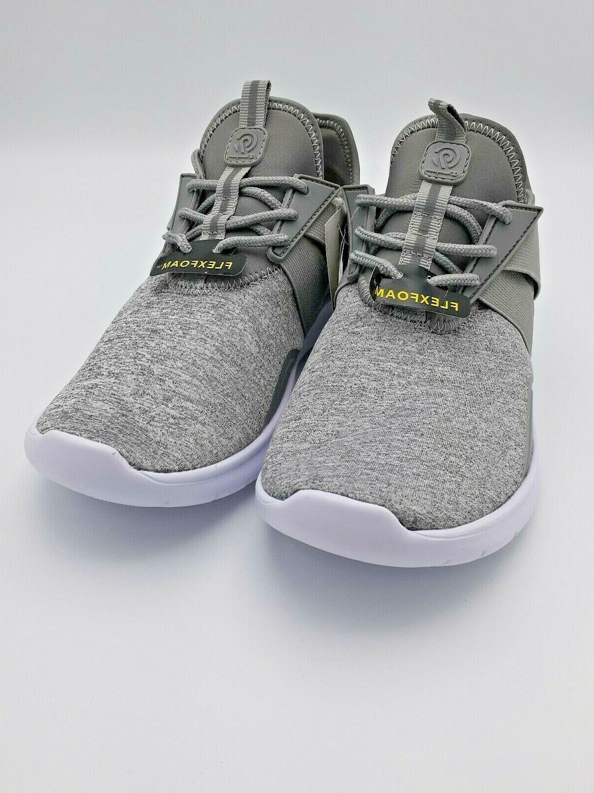 womens drive 4 spacedye heathered sneakers gray