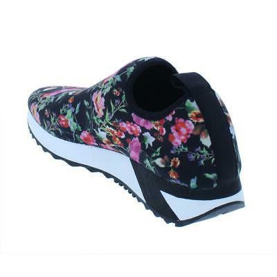 Steve Womens Speed Black Sneakers 8.5 Medium BHFO 6163
