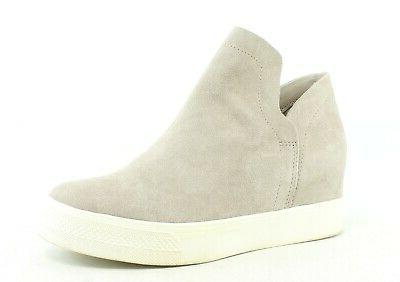 womens wrangle taupe suede fashion sneaker size