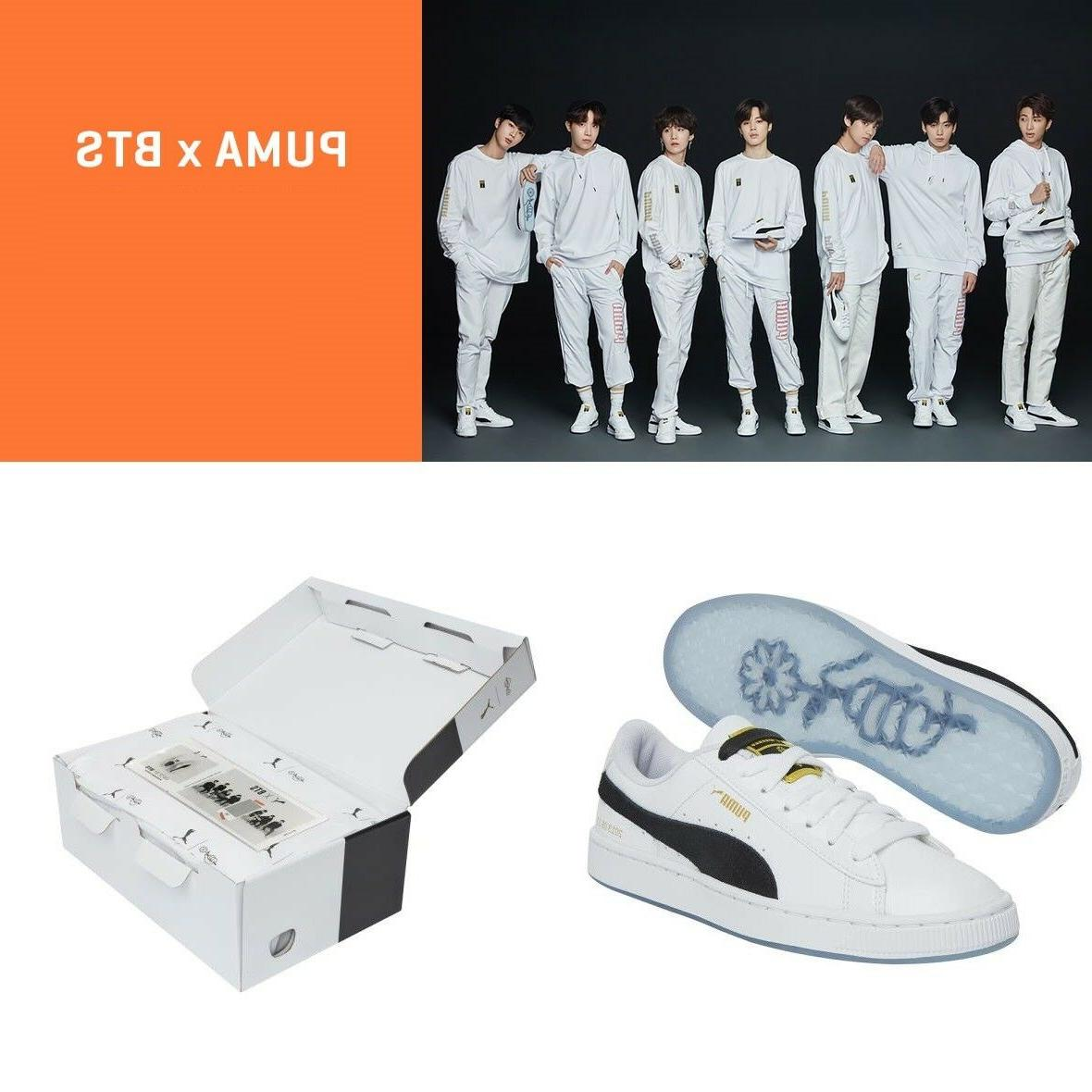 uk availability 3b96a 2c8bb PUMA X BTS Limited Edition Basket Patent...