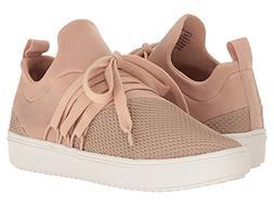 Steve Madden Women's Lancer Fashion Sneaker, Blush, 10 M US