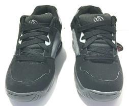 Heelys Launch Skate Shoe , Black/Pink, 5 M US Big Kid