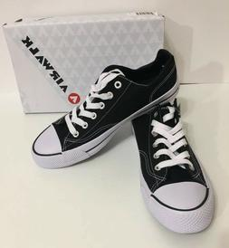 Airwalk Legacee Black and White Low Tops Sneakers Men's Shoe