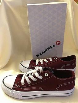 Airwalk Legacee Sneakers, Women's Size 8, #169333, Maroon &