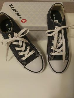Airwalk Leganee Canvas Tennis Shoes * NIB * Navy Denim  *  W