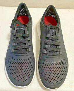 Crocs Men's LiteRide Pacer, black/white, 8 M US