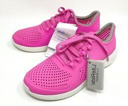 CROCS LITERIDE PACER sneakers Womens 6, 7, 8, 9, 10, 11 Elec