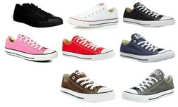 Converse Low Tops OX Black, White, Red, Navy, Grey Sneakers
