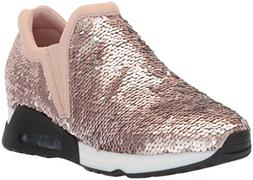 The Fix Women's Luca Slip-on Sequin Jogger Sneaker, Taupe Si