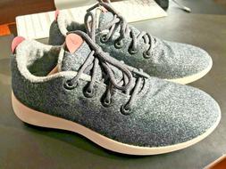 Allbirds M10 Mens Fashion Sneaker Runner Natural Gray Wool U