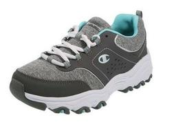 2d99a8981b17 Champion Margaret Womens Runner Gray Jersey Size 8.5 Wide Wi
