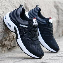 Men <font><b>Sneakers</b></font> Air Cushion Outdoor Walking