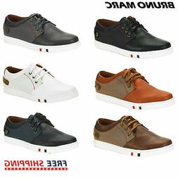 BRUNO MARC Mens Casual Shoes Slip On Lace Up Waking Shoes Fa
