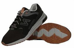 New Balance Men's 1550 REVlite Black Lace Up Sneakers ML1550