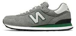New Balance Men's 515 Shoes Grey with Green