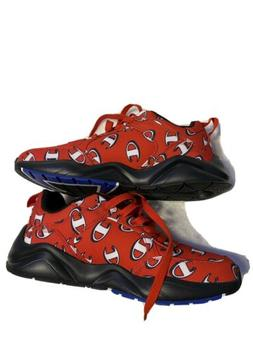CHAMPION Men's 93Eighteen Repeat C LOGO Red Shoes Sneakers S