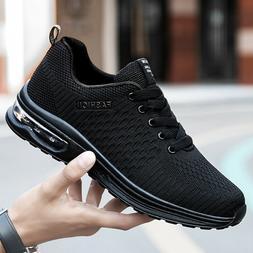 Men's Air Cushion Sneakers Running Jogging Tennis Shoes Athl