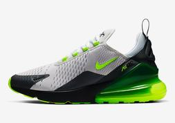 """Men's Nike Air Max 270 """"Neon Volt"""" Athletic Fashion Sneakers"""