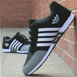 Men's Athletic Sneakers Outdoor Breathable Trainers Sports R