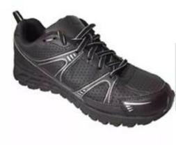 Starter Men's Black Lace-up Wide Width Athletic Sneakers Sho