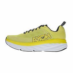 Hoka One One Men's Bondi 6 Running Shoes Citrus/Anthracite W
