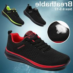 Men's Breathable Walking Athletic Sports Running Shoes Casua