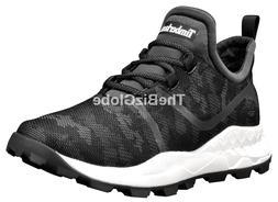 Timberland Men's Brooklyn Fabric Oxford Sneakers, Black, Siz